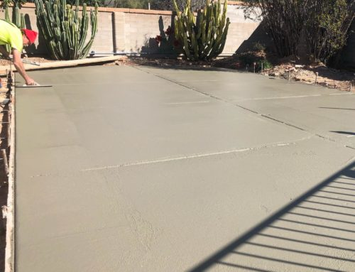 What are the differences between my BST concrete estimates?