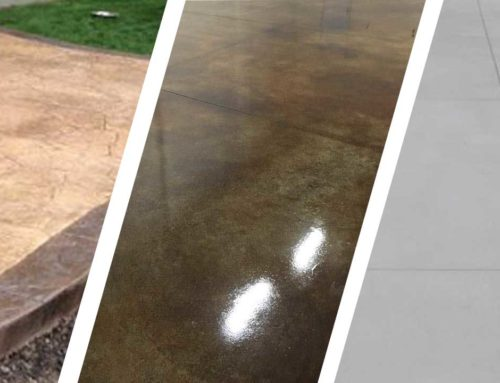DECORATIVE CONCRETE VS GRAY CONCRETE