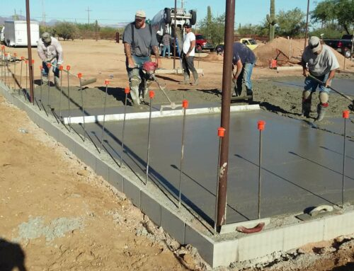 WHAT IS THE GOING RATE FOR CONCRETE WORK?