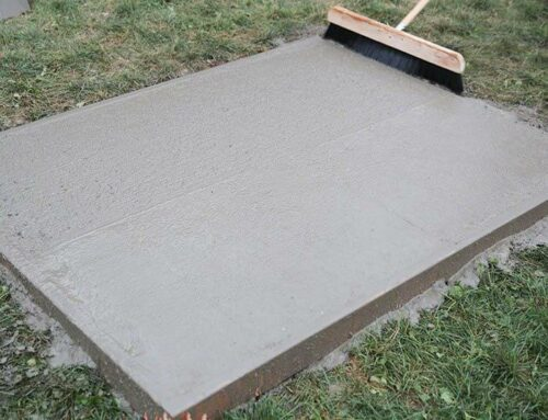 What is the minimal job size a Licensed  Concrete Contractor will take on?