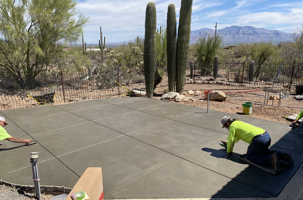 constructor for concrete slab