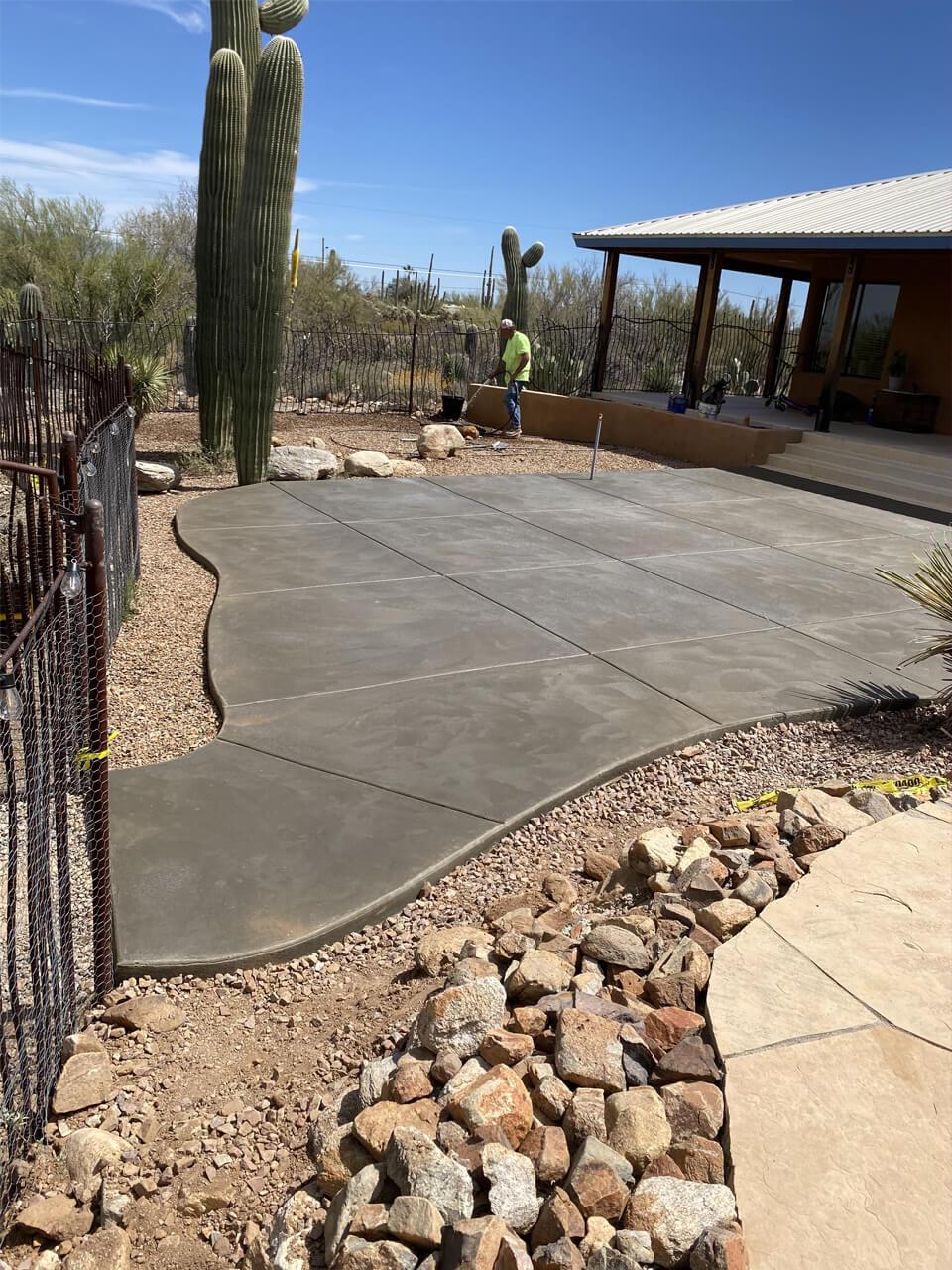 concrete slab constructor