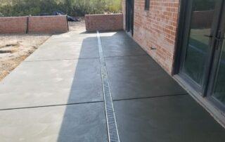 concrete platform construction
