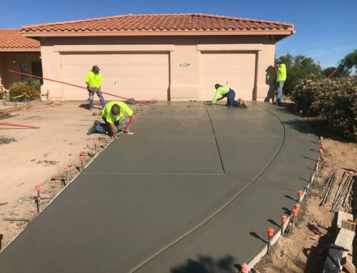 Can I get concrete work done in the AZ Summer?